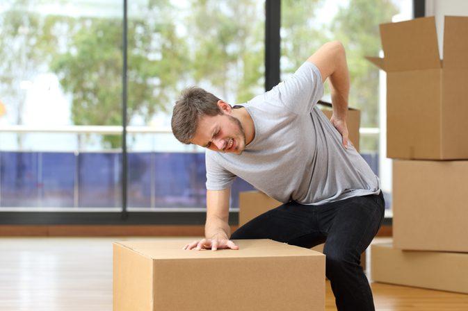 Упражнения от судорог в спине