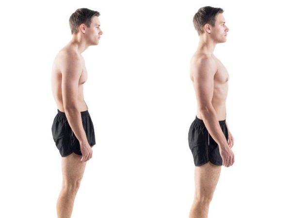 выпрямить спину