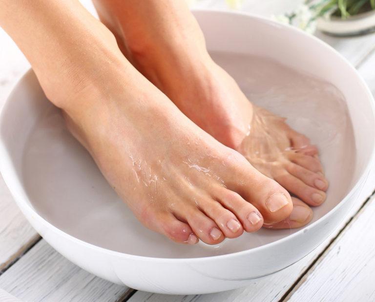Ванночки от грибка кожи ног