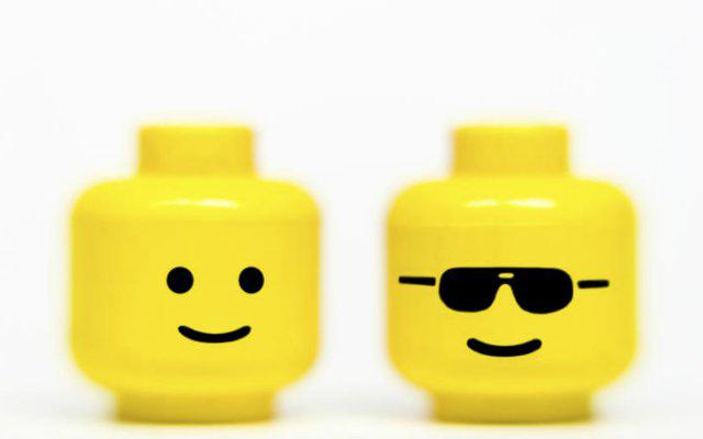 голова лего