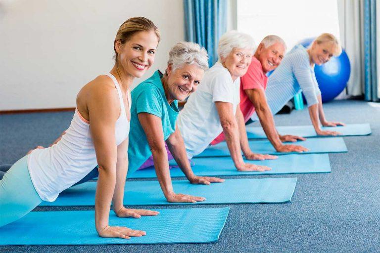 преимущества упражнений пилатес для пожилых людей