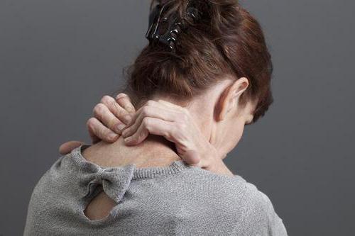 Акупрессура мышц шеи