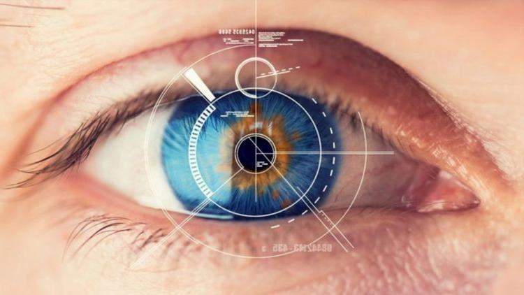сканирование глаза