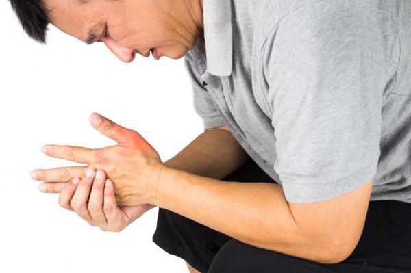 Упражнения для лечения тендинита в запястье - растягивается запястье